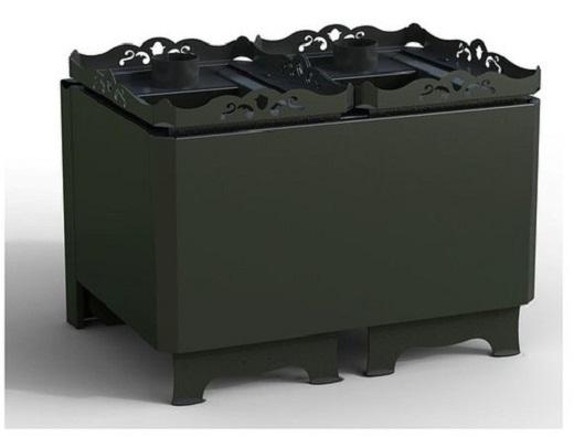 На снимке газовая печь для бань