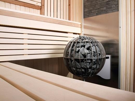 Электрическая банная печь «Harvia Globe GL 110» на фото