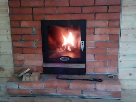Печь для бани Кирасир 20 на снимке