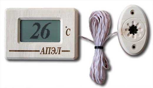 Термометр цифрового типа представлен на фото