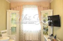 Украшаем окна вашей гостиной шторами