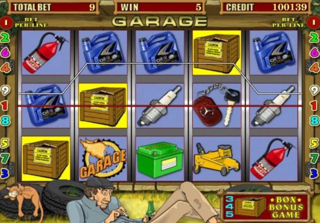 Что такое игровой автомат «Garage» в «Вулкан»?