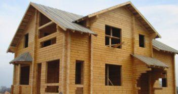 Строительство домов из брусьев - особенности технологии