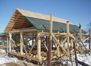 Каркасная баня – технология строительства 2