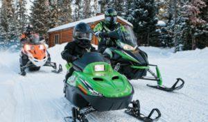 Снегоходы стали неотъемлемой составляющей зимнего отдыха в России