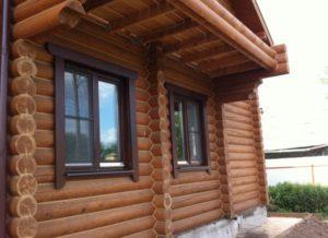 Деревянные наличники на окна 2