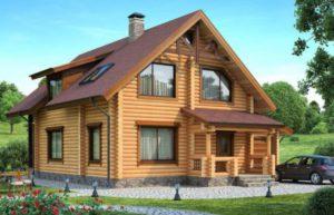 Усадка брусового дома – ключевые особенности