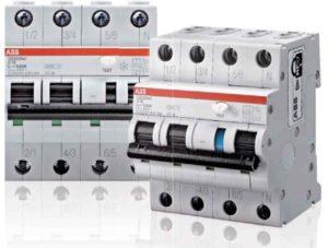 Дифференциальные автоматические выключатели (АВВ) 2