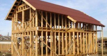 Проекты и строительство каркасных домов