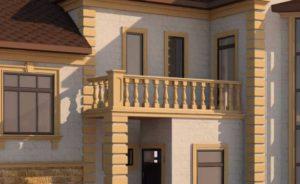 Фасадные наличники для окон и межэтажные карнизы для многоэтажных домов