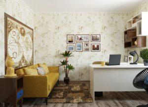 Расстановка мебели в комнате
