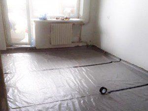 Проведение гидроизоляционных работ бетонного пола