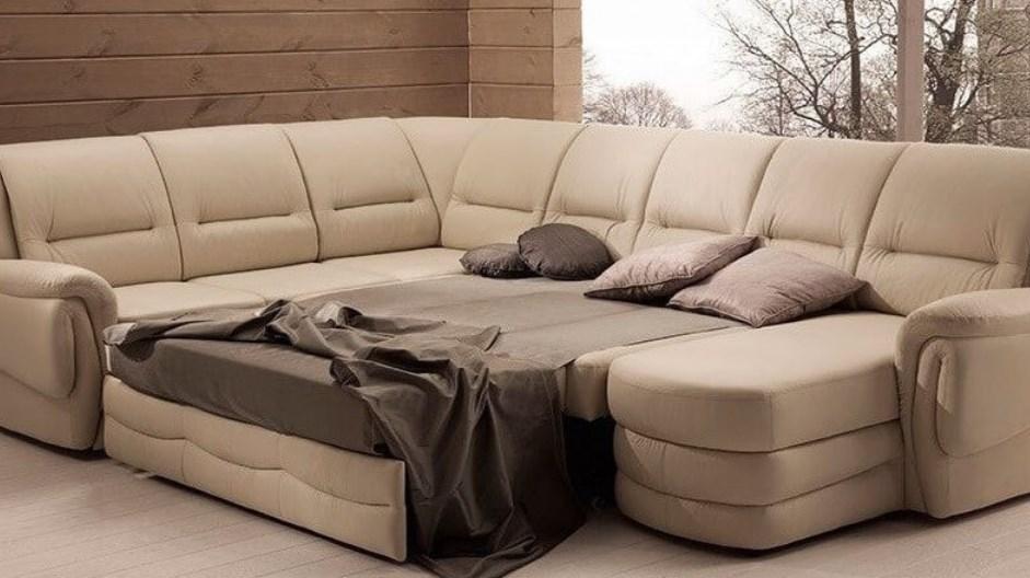 Угловые диваны со спальным местом – прекрасное решение для дома