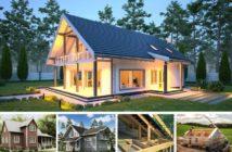 Архитектурные стили каркасных домов: что выбрать